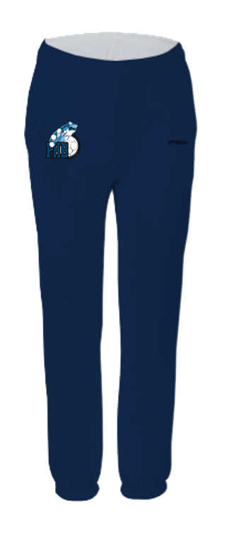 Pantalon molleton club junior bleu marine