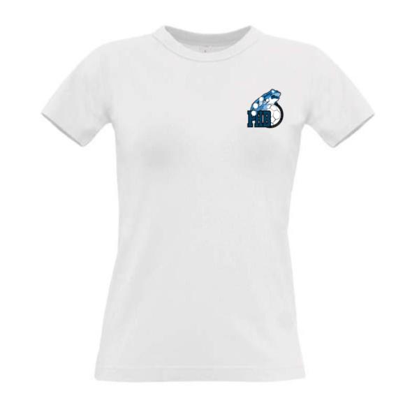 Tee-shirt supporter FEMME - BLANC