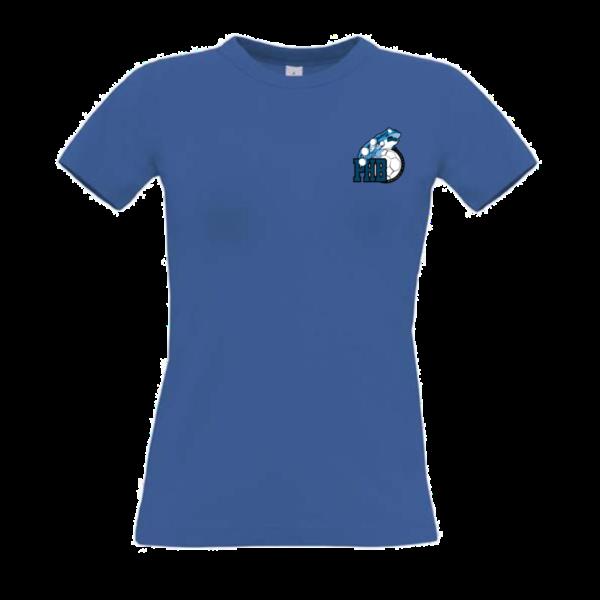Tee-shirt supporter FEMME - BLEU